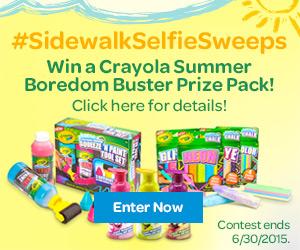 Crayola Sidewalk Selfie Sweepstakes