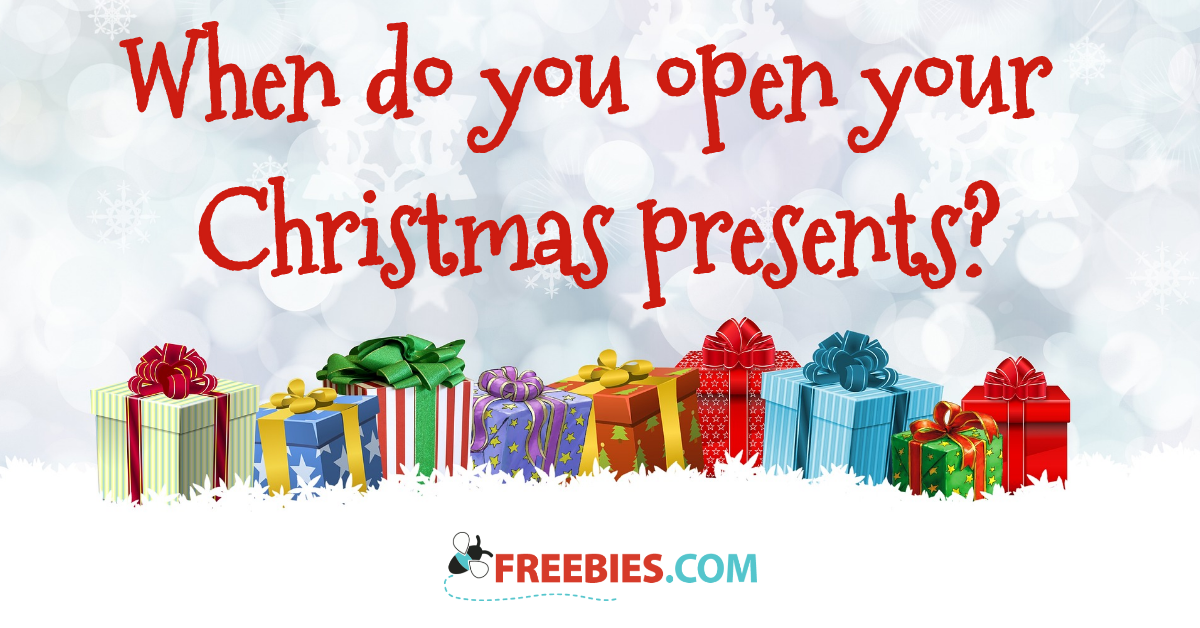 poll when do you open your christmas gifts - When Do You Open Christmas Presents
