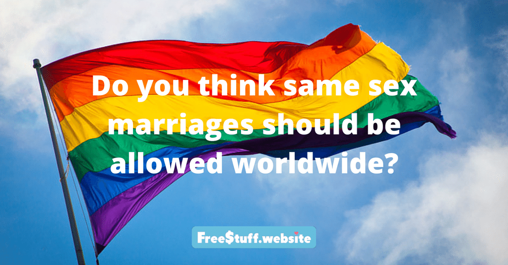 be marriages should Why allowed gay