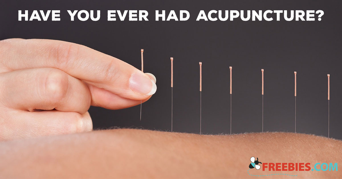 POLL: Have you Ever Had Acupuncture?