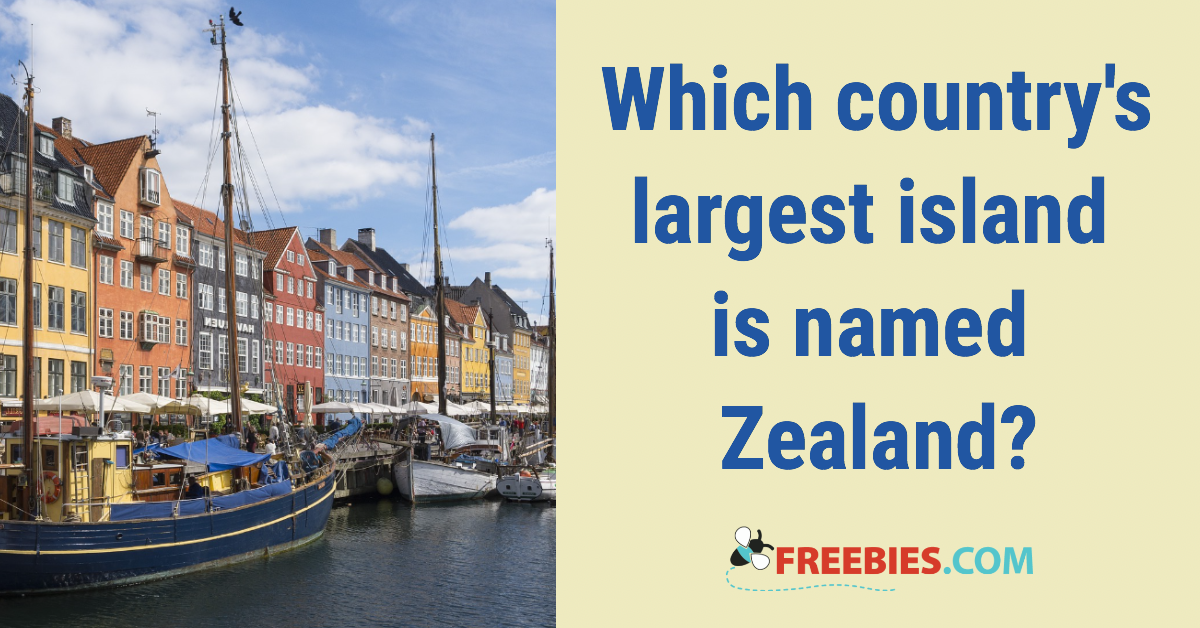 TRIVIA:Which country's largest island is called Zealand?