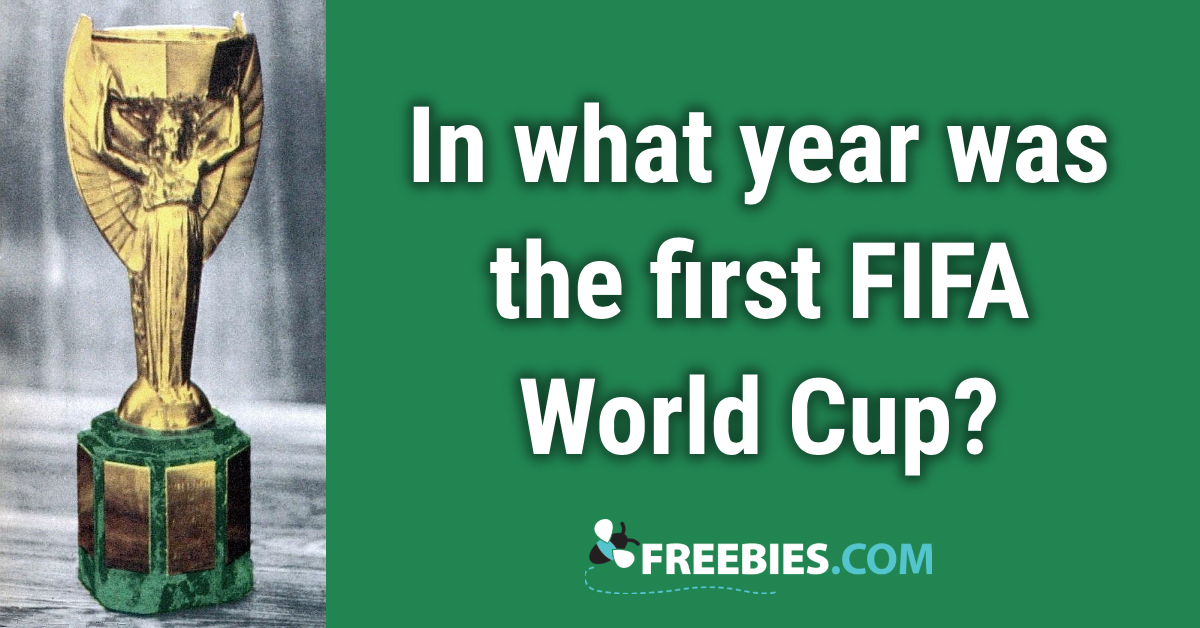 TRIVIA: In what year was the first FIFA World Cup held?