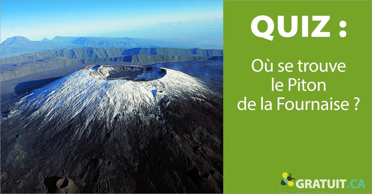 Où se trouve le Piton de la Fournaise?