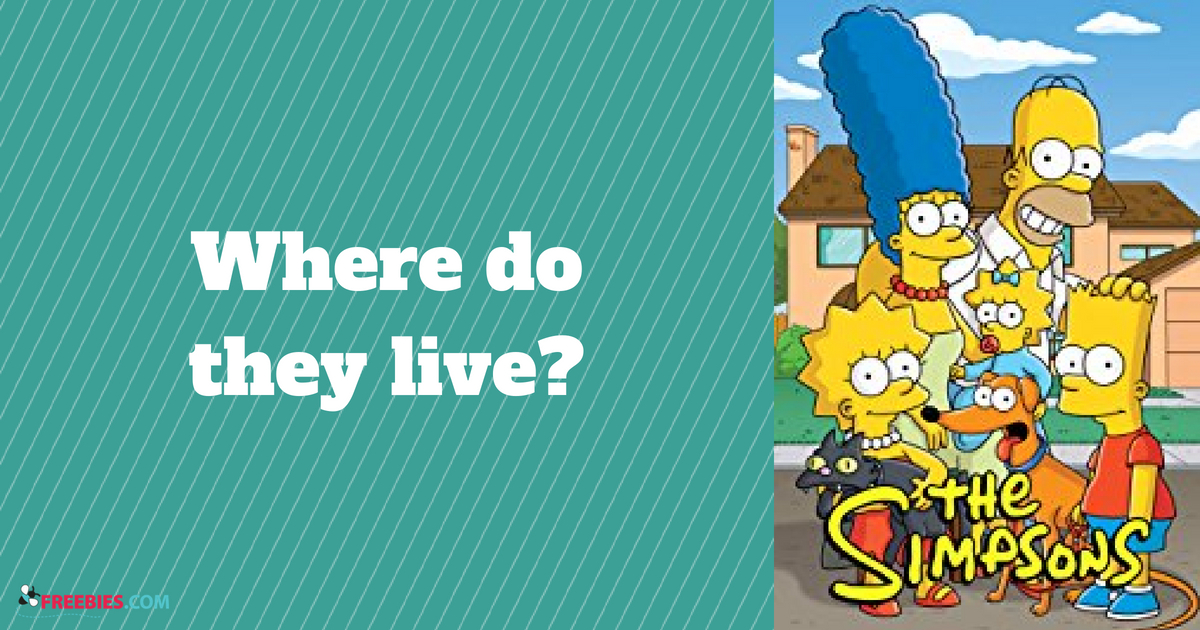 trivia what city do the simpsons live in