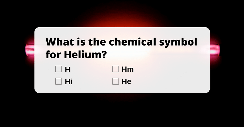 What Is The Chemical Symbol For Helium