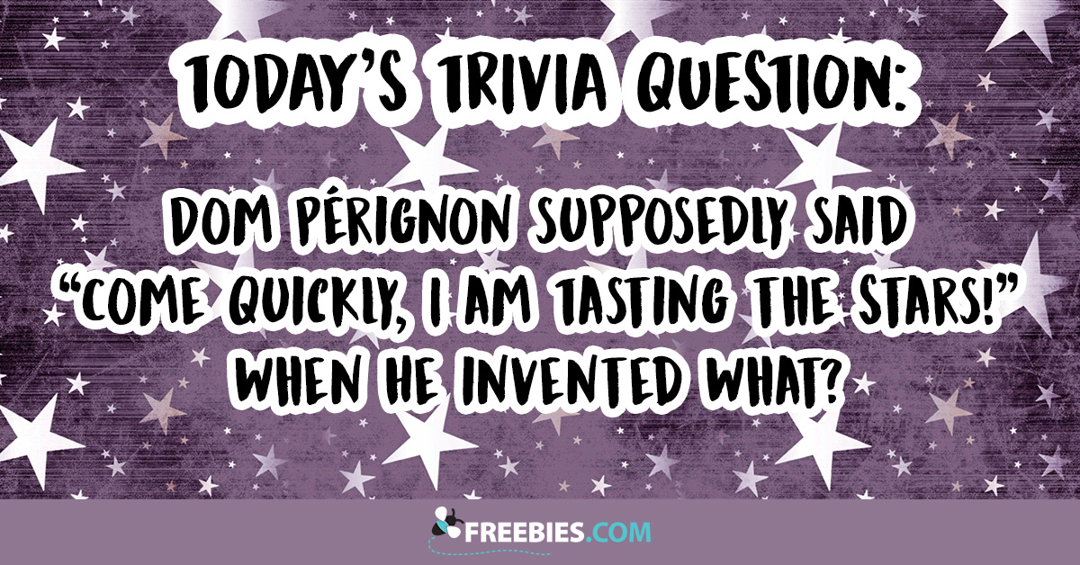 What Did Dom Perignon Invent?
