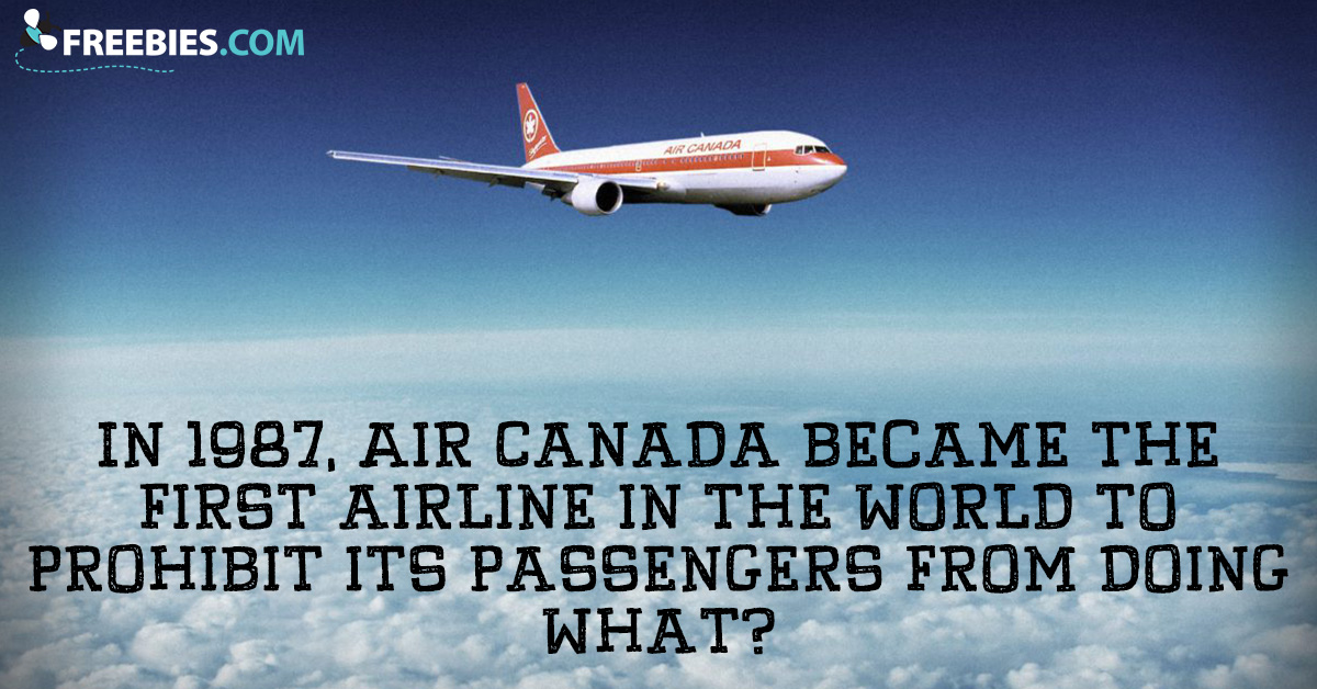 Answer This Air Canada Question!