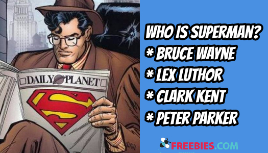 TRIVIA: Who is Superman?