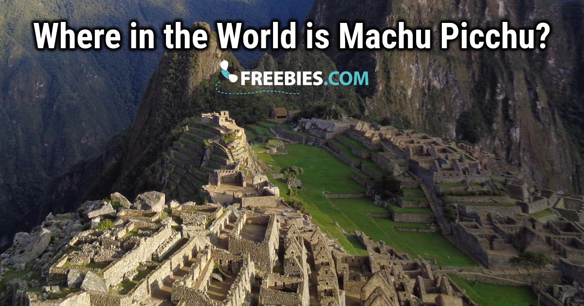 TRIVIA: Where in the world is Machu Picchu?