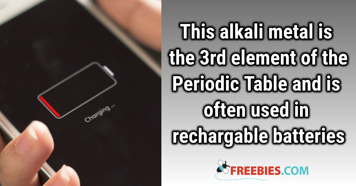 TRIVIA: Do you know this element from the periodic table?