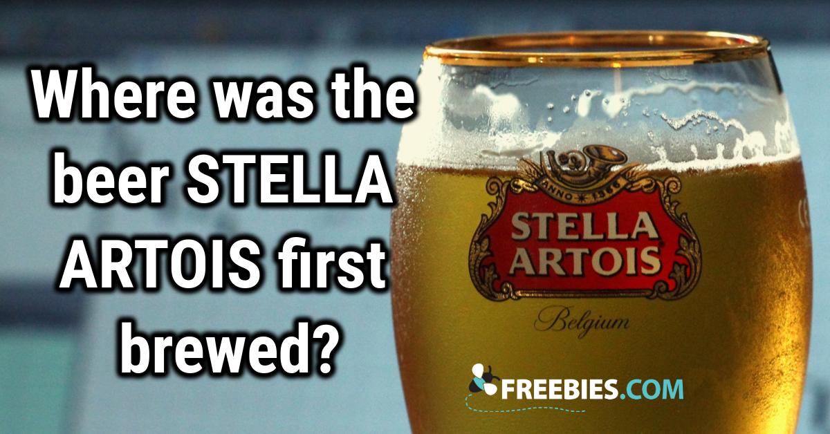 TRIVIA: Are you a beer aficionado?