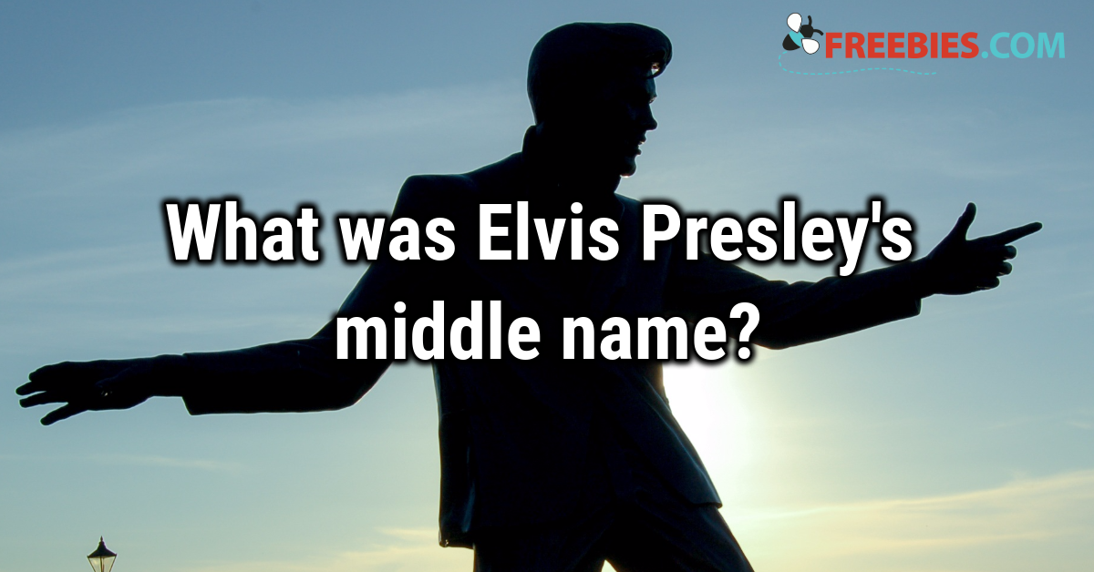 TRIVIA: Do you know the King of Rock 'n' Roll's middle name?
