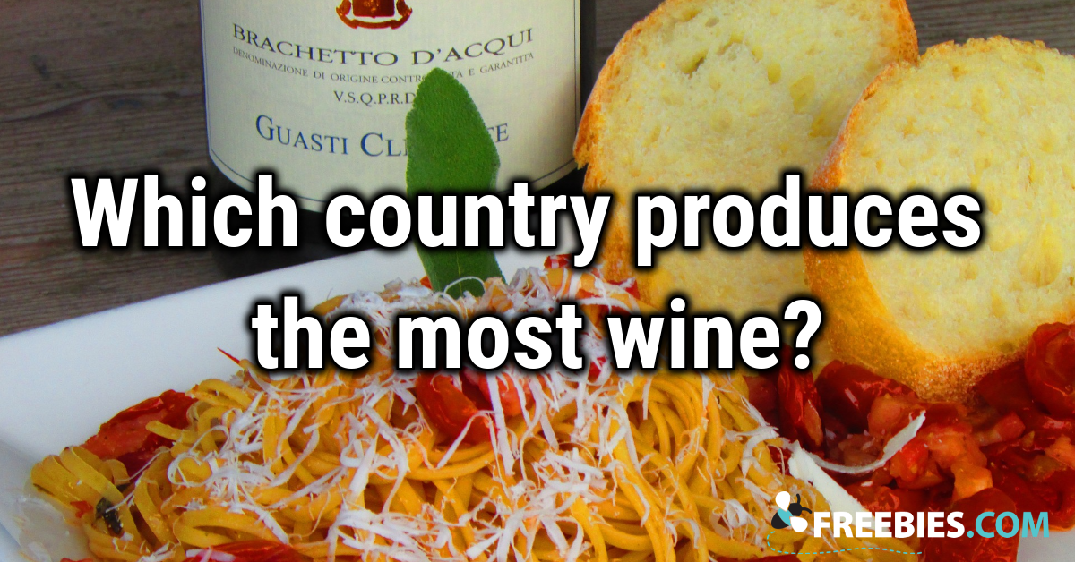 TRIVIA: What country produces the most wine?