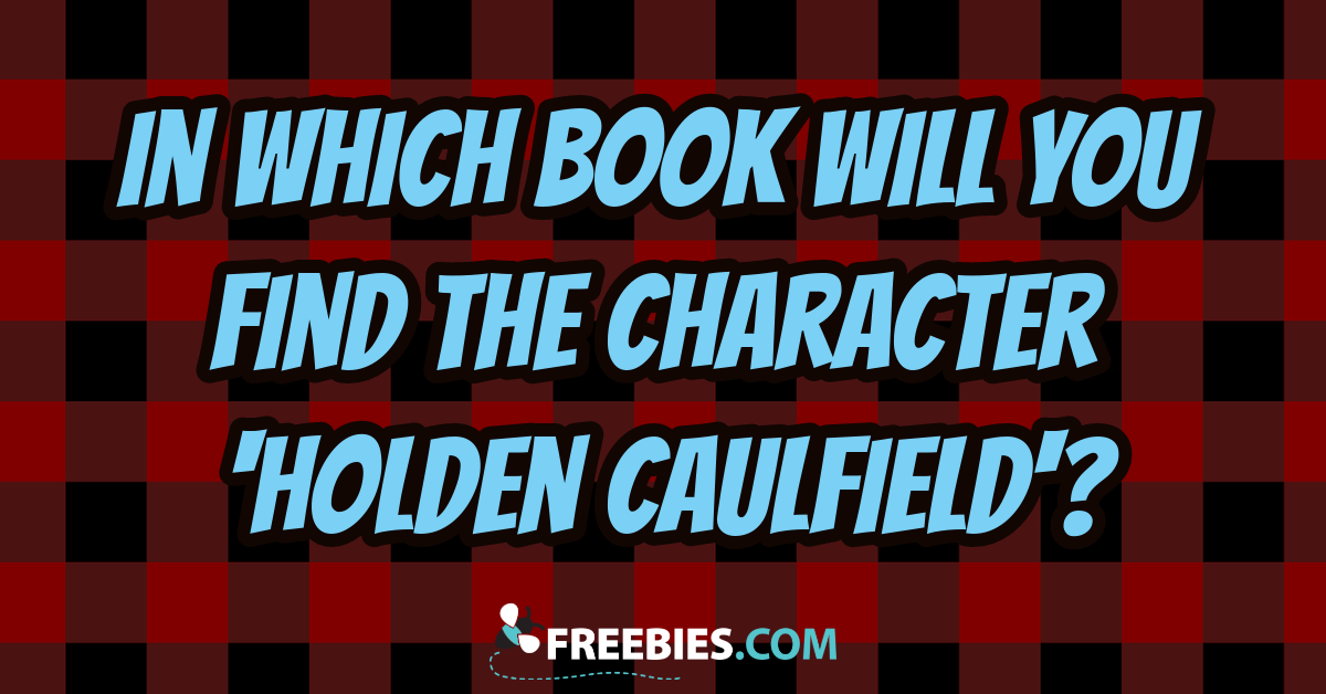 TRIVIA: Which book is Holden Caulfield from?