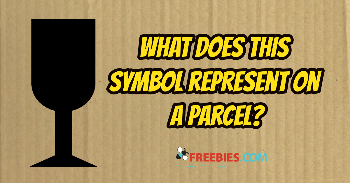 TRIVIA: What does a black goblet symbol mean on a parcel?