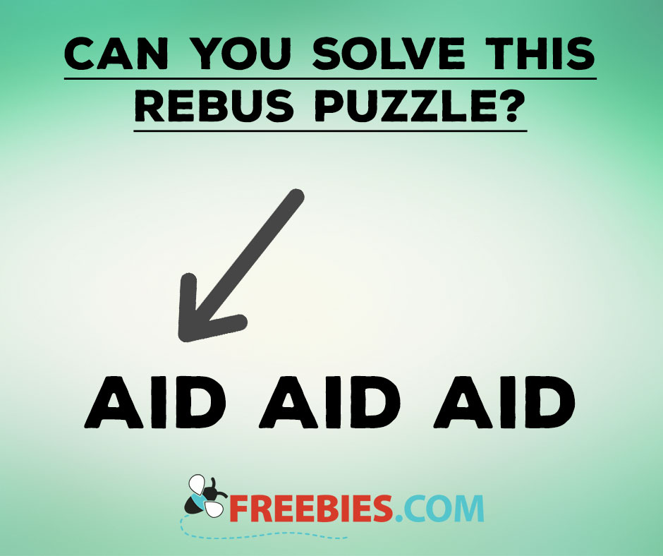 RIDDLE: Can You Solve This Rebus Puzzle?