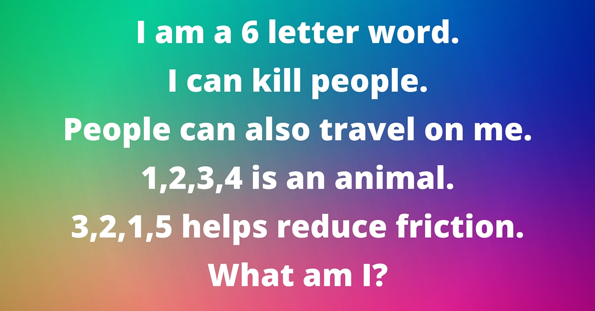 This Riddle Has Confused Many People