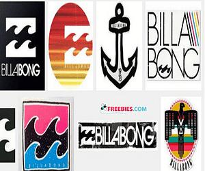 Free Billabong Sticker Pack