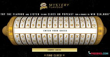 Win $10,000 from Pringles