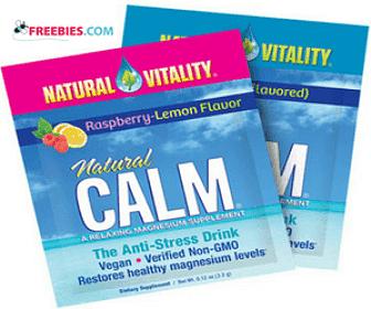 free sample of natural vitality calm