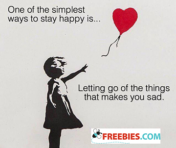 One of the simplest ways to stay happy