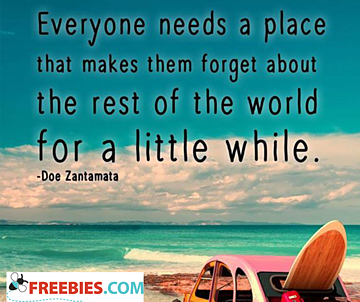 Everyone needs a place