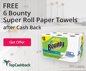 Free Bounty Paper Towel