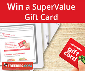 Win a SuperValue Gift Card
