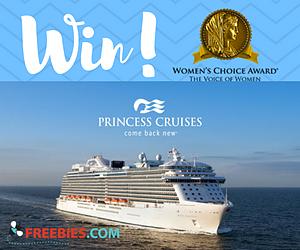 Win a $2,000 Princess Cruises Gift Card