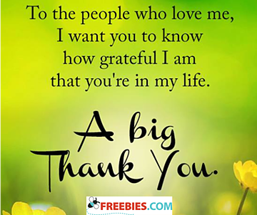 To the people who love me