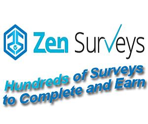 Make Money Online with ZenSurveys