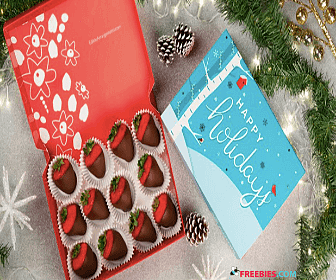 Free Box of Chocolate Dipped Fruit