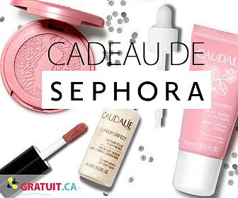 Recevez un cadeau beauté de Sephora