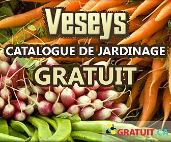 Obtenez un catalogue de jardinage gratuit de Veseys