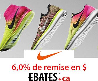 Nouveaux articles en solde chez Nike Canada – jusqu'à 30% de rabais