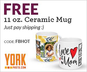 Free Custom Mug from York Photo