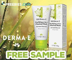 Free Derma E Charcoal Mask