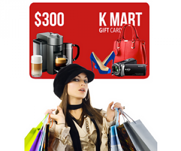 Win a Shopping Spree at Kmart