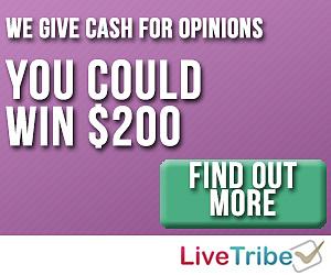 LiveTribe Panel Rewards Program