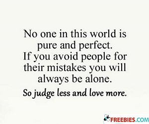 No One In The World