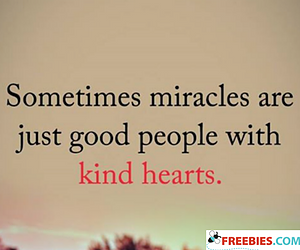 Sometimes Miracles