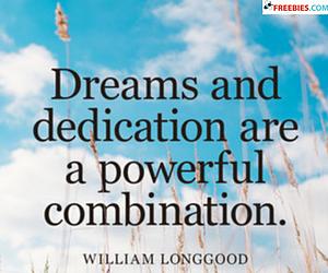 Dreams And Dedication