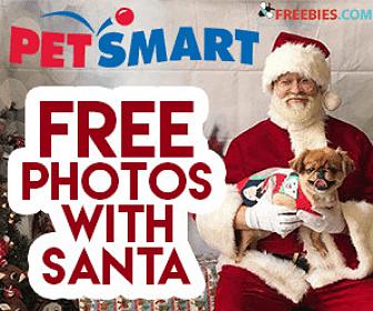 Free Pet Photo with Santa