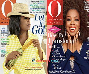 Free Subscription to O Magazine