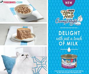 Free Fancy Feast Cat Food Sample