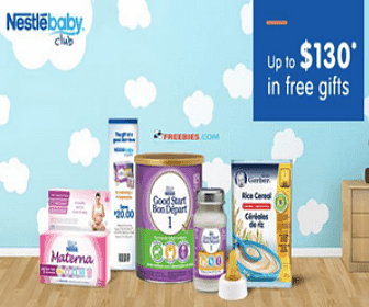 Free Welcome Box from the Nestle Baby Club
