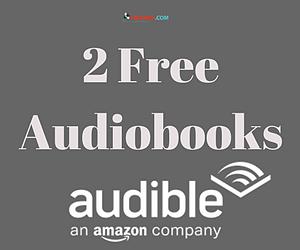 2 Free Audiobooks from Amazon Audible