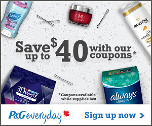 P&G Coupons and Samples