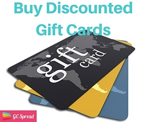 Get Discounts on Gift Cards