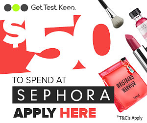 Test Out $50 Of Sephora Products